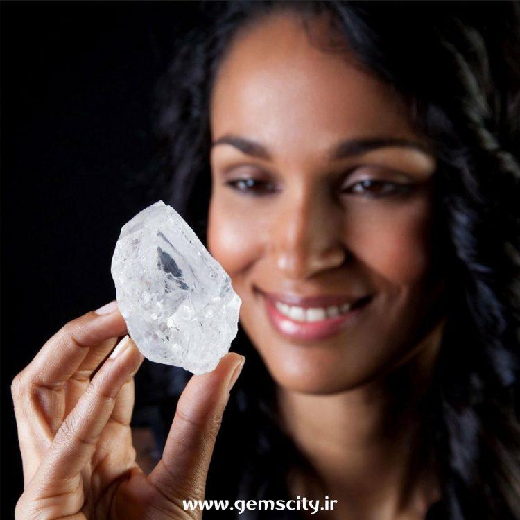 تشخیص معدن کشور مبدا الماس