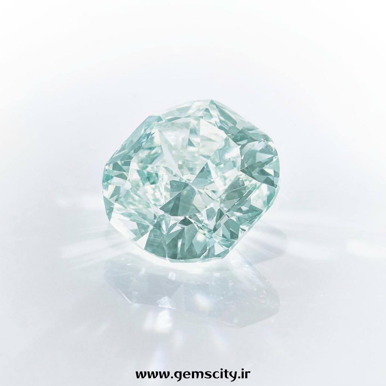 الماس سبز-آبی