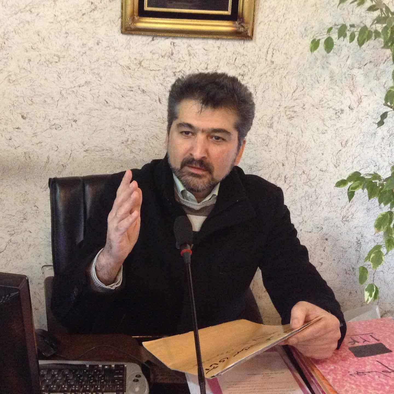 آقای طالبی رییس اتحادیه طلاوجواهر اردبیل